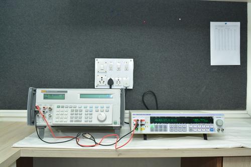 Test equipment calibration