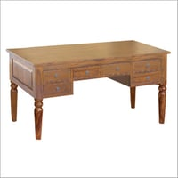Wooden Colonial Writing Desk Table