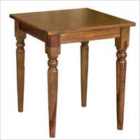 Wooden Colonial Pub Table