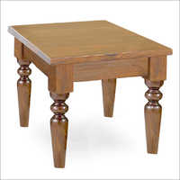 Wooden Colonial Side Table