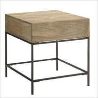 Wooden Darwin Side Table
