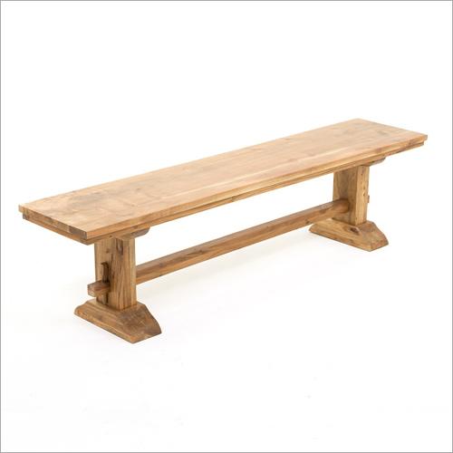 Wooden Santa Fe Bench