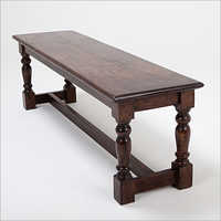 Wooden Harvest Bench