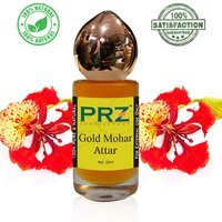 PRZ Gold Mohar Attar Roll on For Unisex