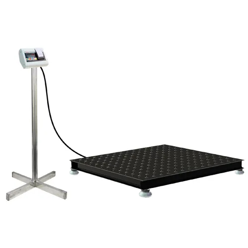 Low Profile Weighing Scale with two side ramp