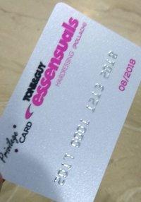 PVC Metallic Embossed Cards