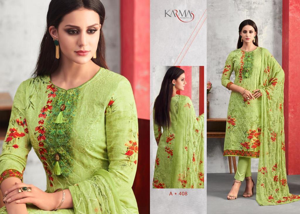 Pure Cotton Digital Printed Salwar Suits
