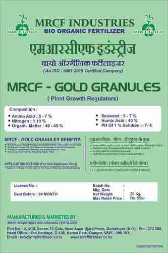 MRCF Gold Plant Growth Regulator