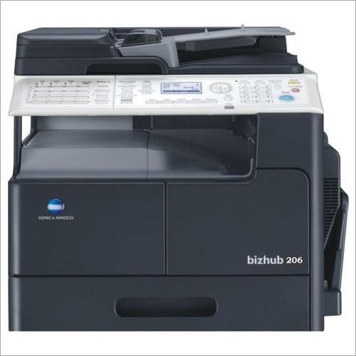Konica Minolta Bizhub 206 Photocopier machine with Auto Duplex & Original cover