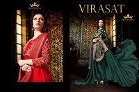 Embroidery Work Designer Anarkali Suits