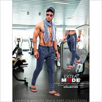 Mens Gym Track Trouser