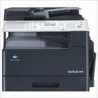Konica Minolta Bizhub 206 Photo copier machine with Original cover & paper feeder