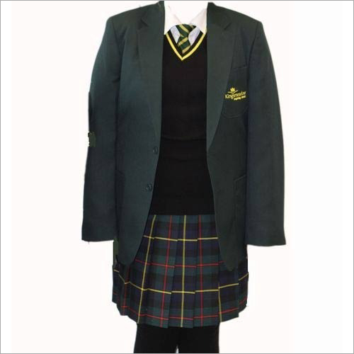 Girls Winter School Uniform
