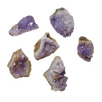 Natural Amethyst Gemstone Cluster