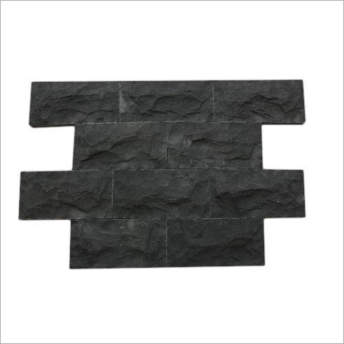 Mushroom Black Basalt Stone