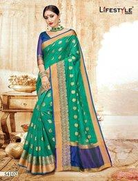 Fancy Weaving Silk Sarees