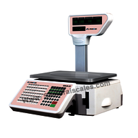 Inbuilt Label Printing Barcode Weighing machine