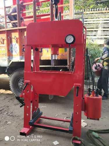 Manual Hydraulic Machine