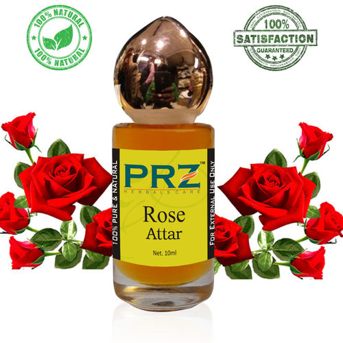 PRZ Rose Attar Roll on For Unisex Pure