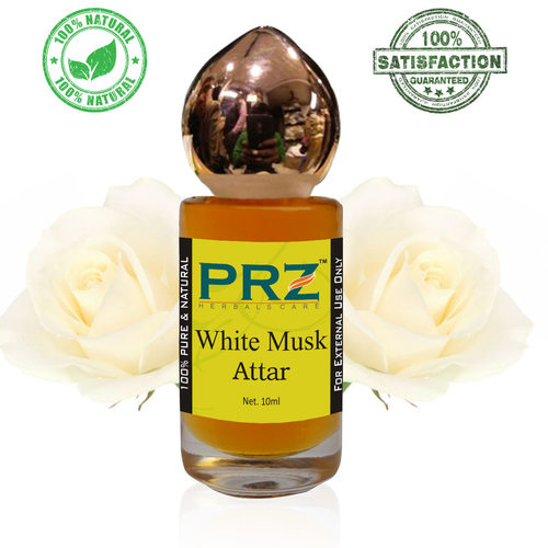 PRZ White Musk Attar Roll on For Unisex