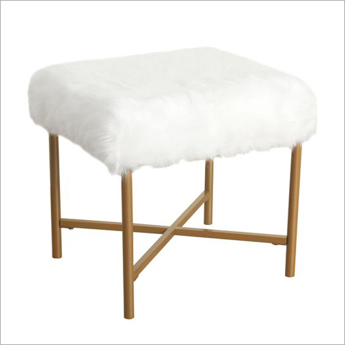 Faux Fur Side Table
