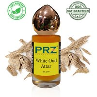 PRZ White Oud Attar Roll on For Unisex