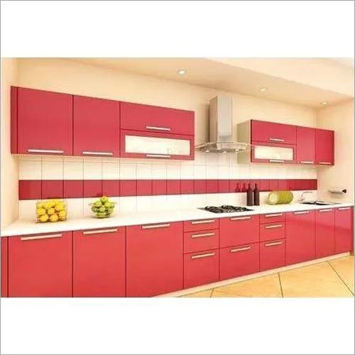 Straight PVC Modular Kitchen