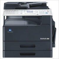 Konica Minolta Bizhub 206 Photocopier machine with Auto Duplex + Network card + control panel + RADF
