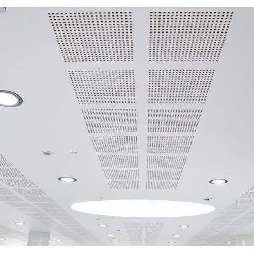 Acoustic Perforated MGO Ceilings