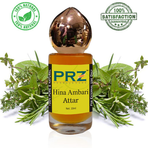PRZ Hina Ambari Attar Roll on For Unisex