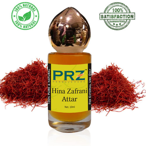 PRZ Hina Zafrani Attar Roll on For Unisex