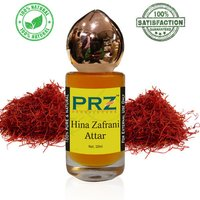 PRZ Hina Zafrani Attar Roll on For Unisex