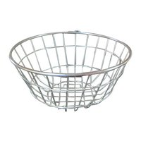 Stainless Steel Kitchen Utensil Round Basket