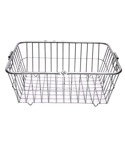 Stainless Steel kitchen Utensil Square Basket