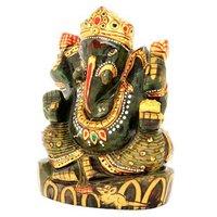 Aventurine Showpiece Ganesha