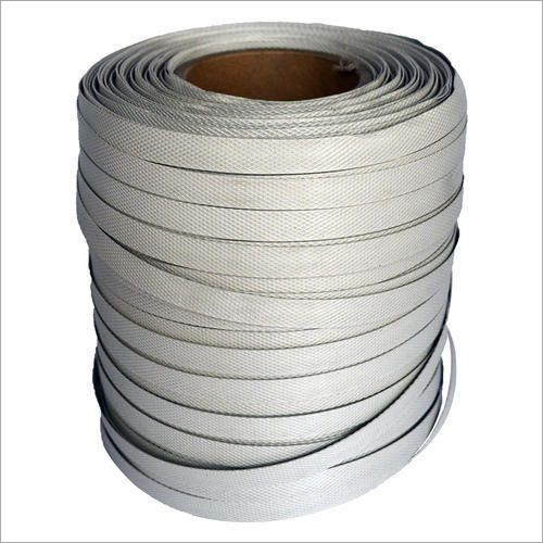 White Plastic Box Strapping Roll