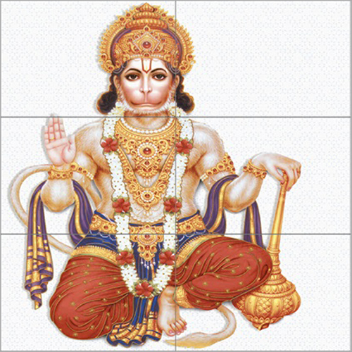Hanuman Wall Tile