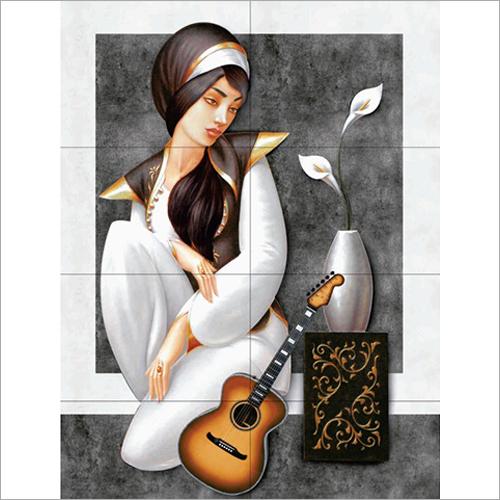 Digital Painting Wall Tile