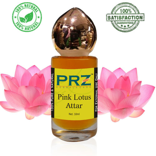 PRZ Pink Lotus Attar Roll on For Unisex