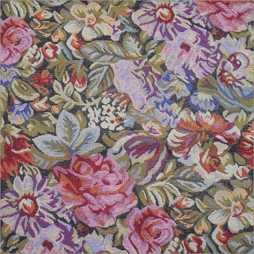 Eroica Aster Floral Jacquard Fabric