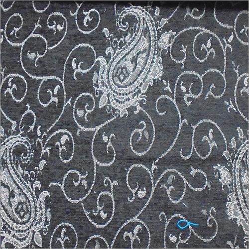 Satin Floral Jacquard Fabric