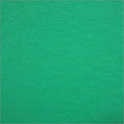 Green Knitted Solid Fabric