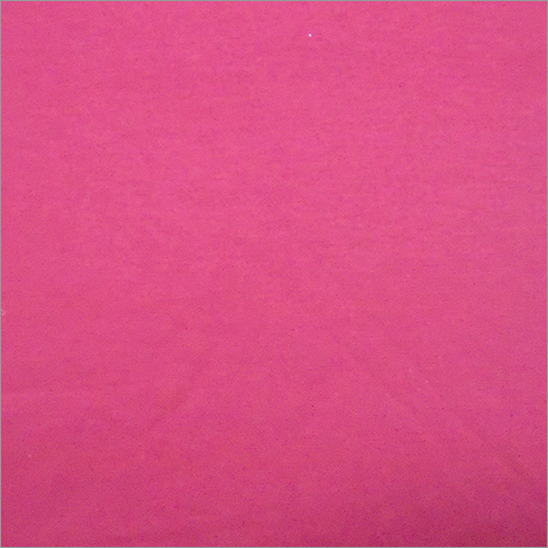 Pink Knitted Solid Fabric