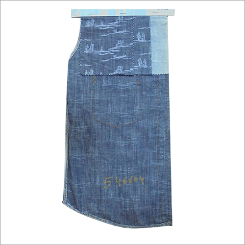 Mercerized Denim Fabric