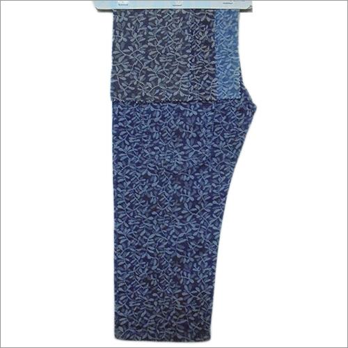 Printed Denim Fabric