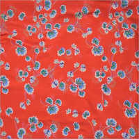 Red Spring Mosscrepe Fabric