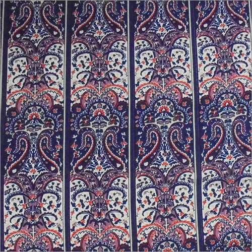 Viscose Rayon Printed Fabric