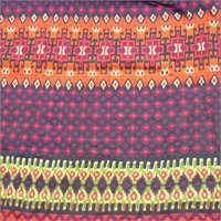 Rayon Crepe Bohemian Printed Fabric