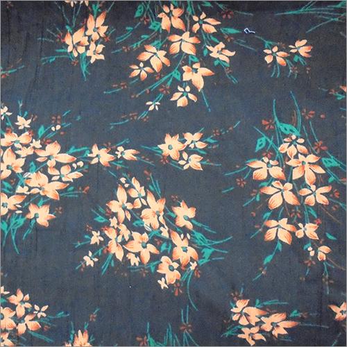 Rayon Challis & Crepe Printed Fabric