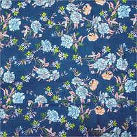 Retro Daisy Floral Print Fabric
